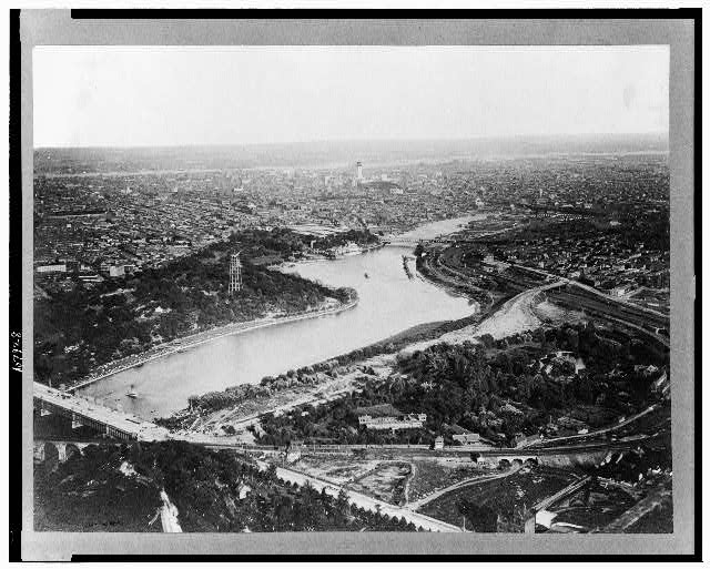 [Aerial view of Philadelphia, Pennsylvania]