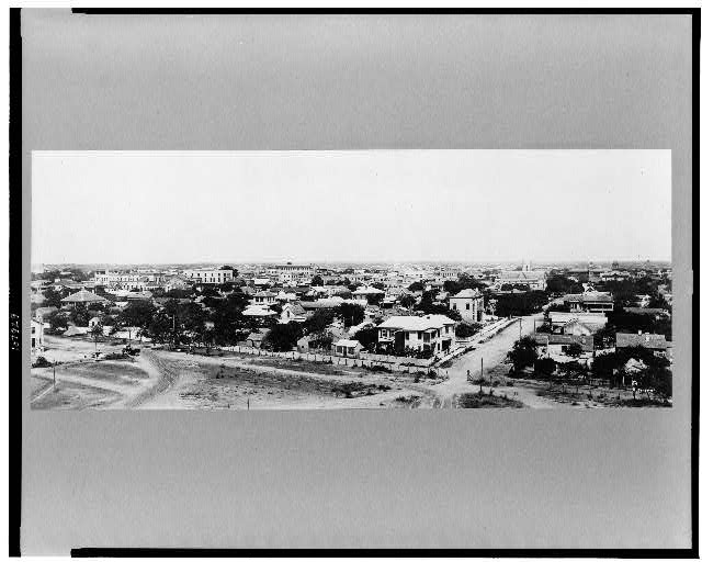 [Brownsville, Texas, from wireless tower, Fort Brown]