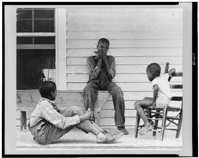 Sharecropper's children