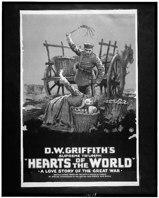 """Hearts of the world"" A love story of the great war."