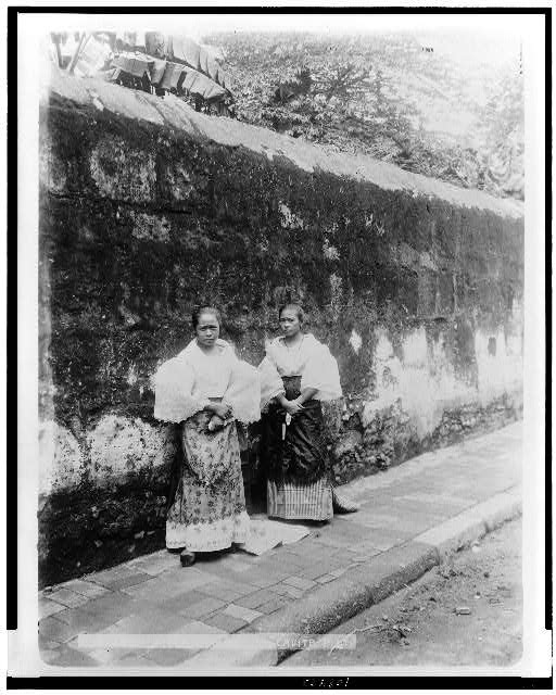 Filipino maidens, Cavite, P.I.