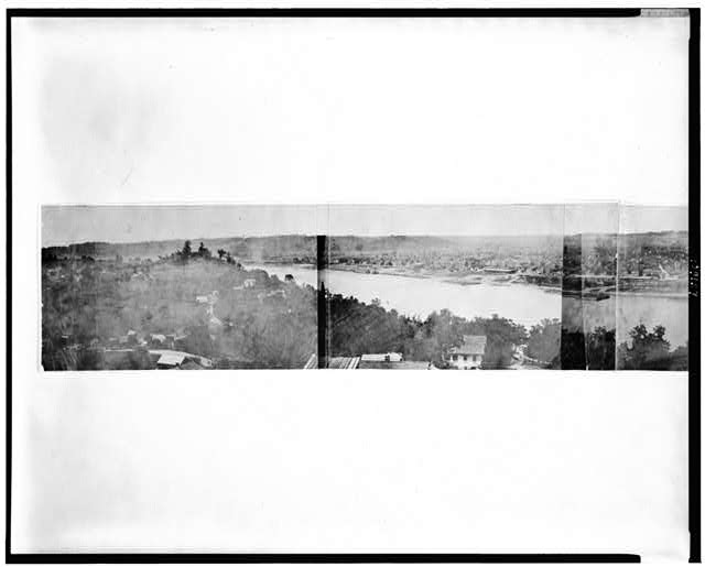 [Photographic view of Cincinnati, Covington and Newport]