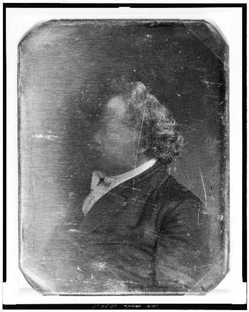 [James J. Mapes, head-and-shoulders portrait, facing left]