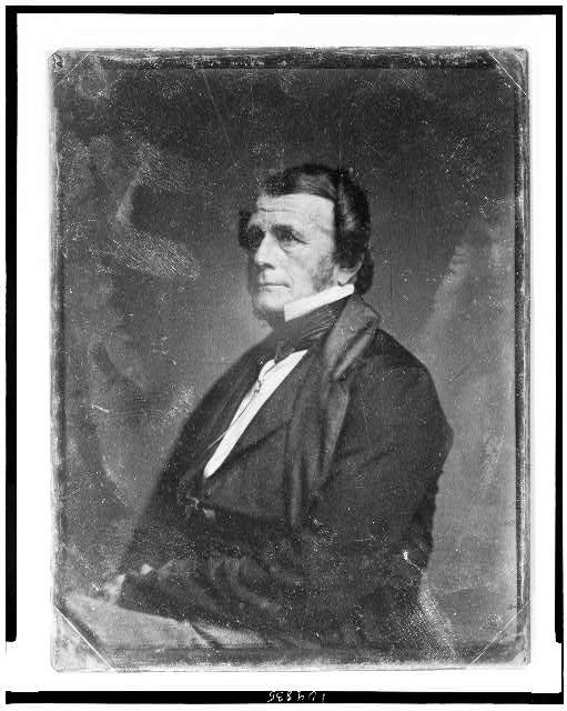 [John P. Morton, half-length portrait, three-quarters to the left]