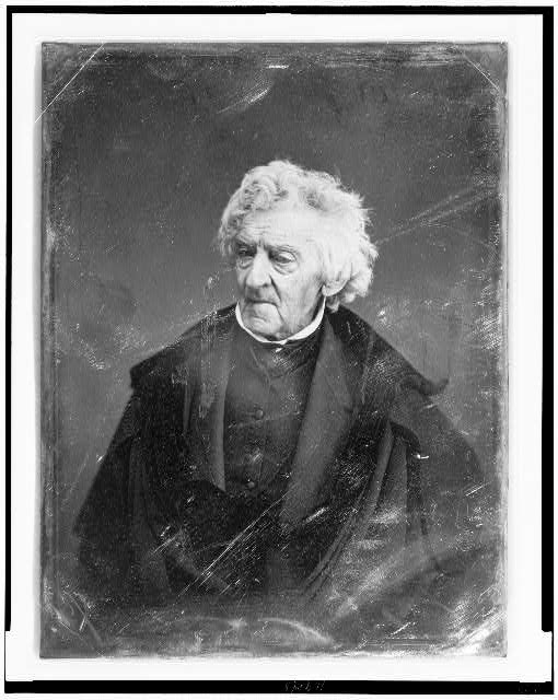 [William Cranch, half-length portrait, three-quarters to left]