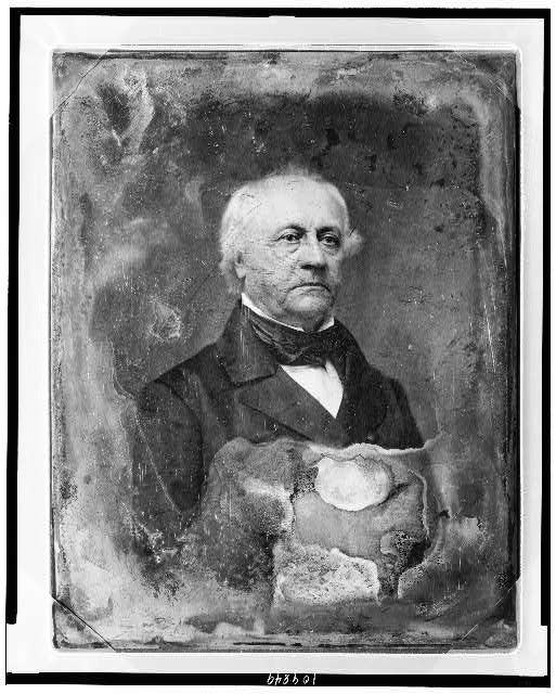 [William Alexander Duer, half-length portrait, three-quarters to right]
