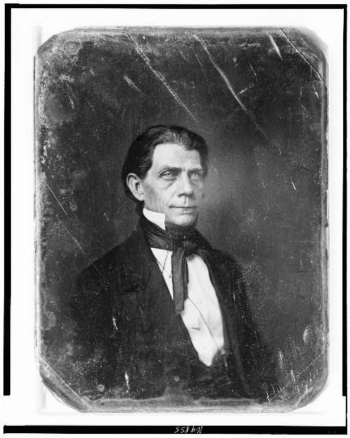 [Memucan Hunt, half-length portrait, three-quarters to the right]