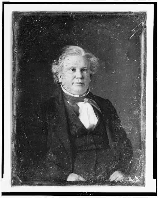[John Y. Mason, half-length portrait, nearly facing front]