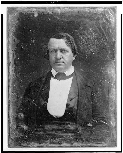 [John P. Hale, head-and-shoulders portrait, facing front]