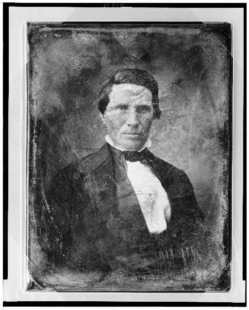 [Alexander William Doniphan, head-and-shoulders portrait, facing front]