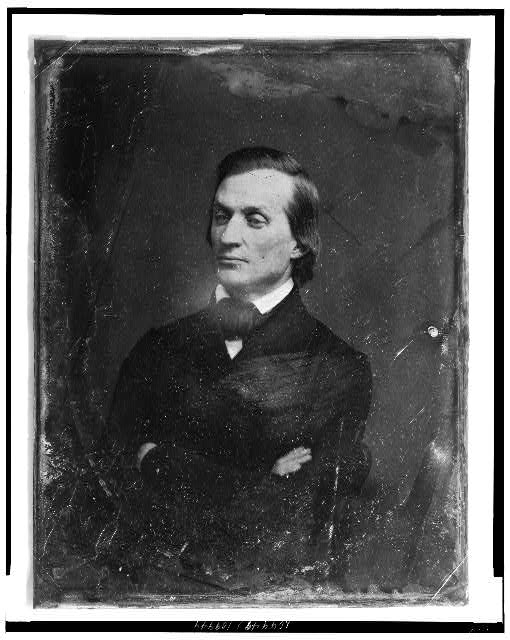 [Solon Borland, half-length portrait, facing three-quarters left]