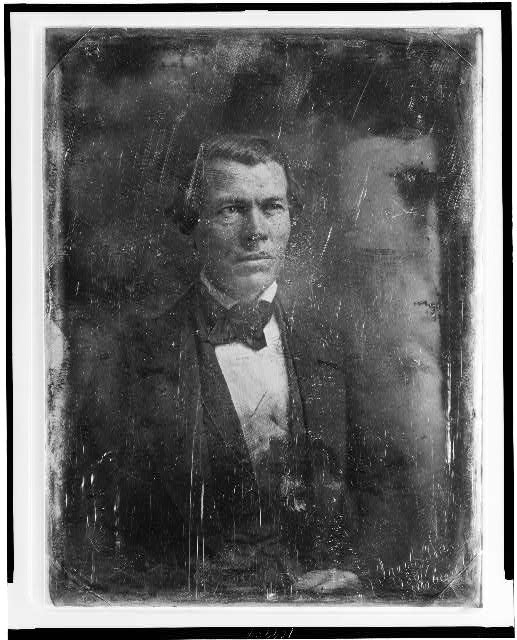 [Jacob Thompson, half-length portrait, three-quarters to right]