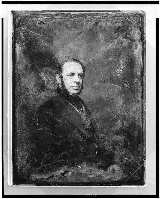 [Charles Christofle, half-length portrait, three-quarters to the right]