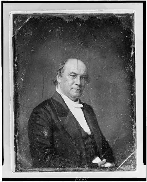 [Francis Lister Hawks, half-length portrait, three-quarters to the right, eyes front]