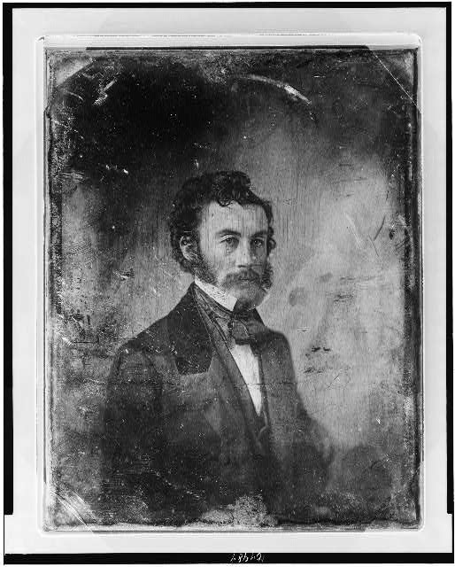 [Unidentified man, about 35 years of age, half-length portrait, three-quarters to the right]