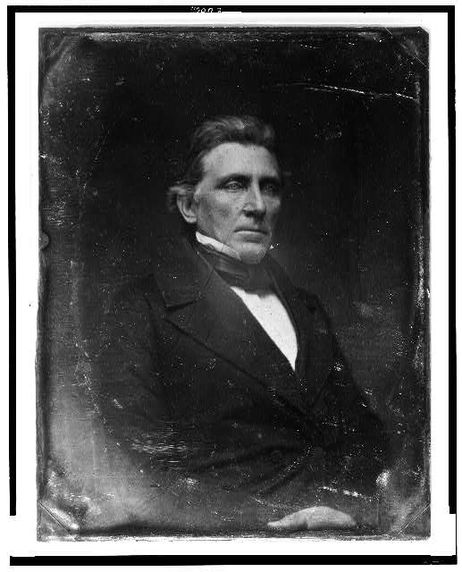 [William McKendree Gwin, half-length portrait, three-quarters to the right]