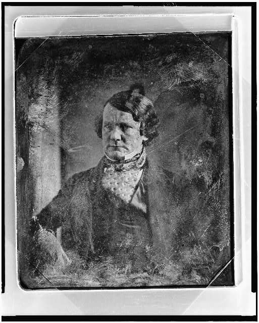 [Alexander Barrow, half-length portrait, facing three-quarters to the left]