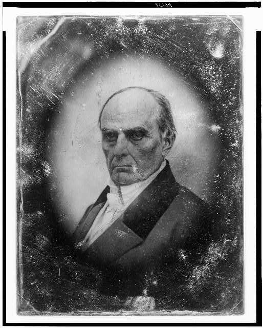 [Daniel Webster, head-and-shoulders portrait, facing front]
