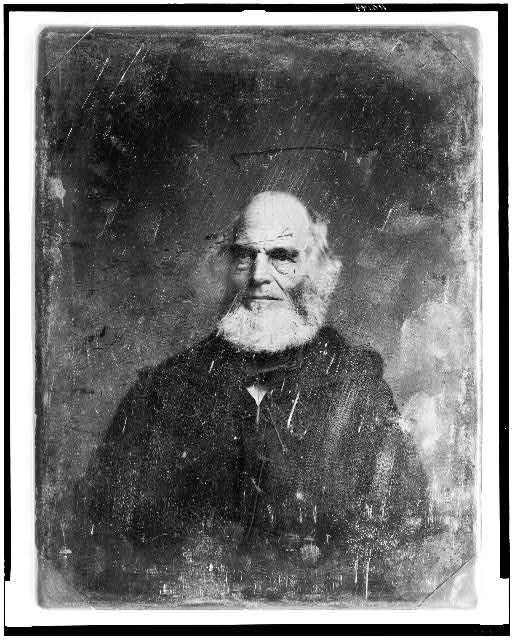 [William Cullen Bryant, head-and-shoulders portrait, facing slightly left]