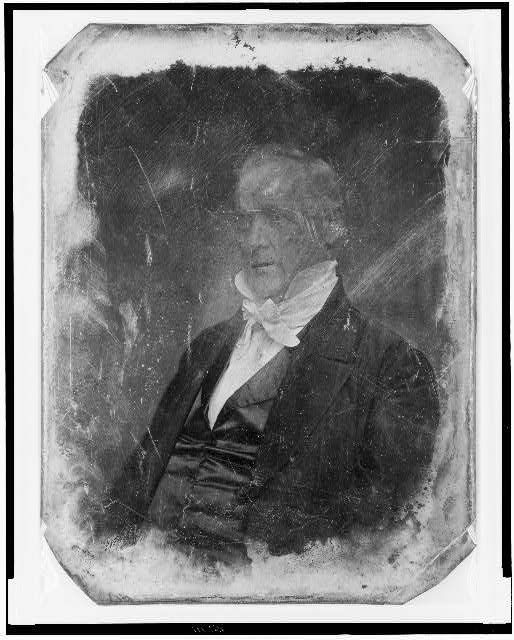 [James Buchanan, half-length portrait, three-quarters to the left]