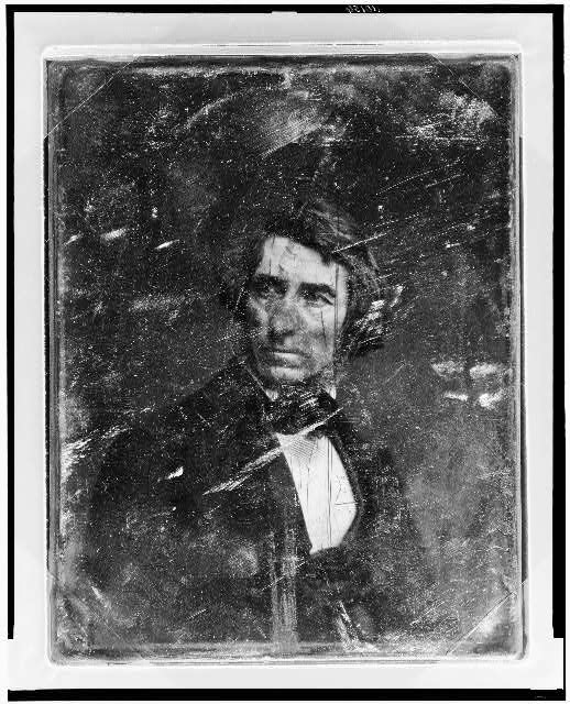 [Asher Brown Durand, head-and-shoulders portrait, three-quarters to the right, head three-quarters to the left]