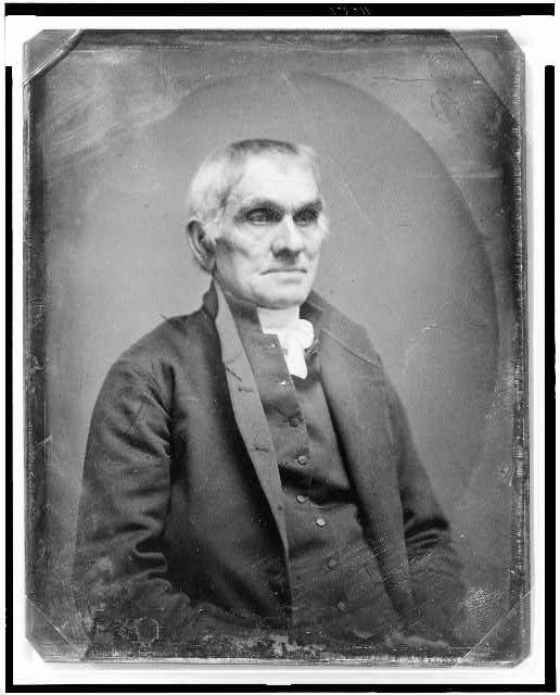 [Unidentified man, half-length portrait, facing right]