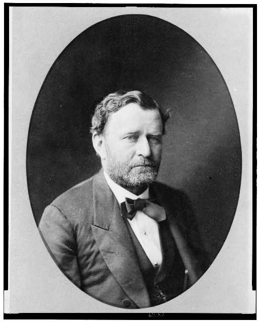 [Ulysses S. Grant, head-and-shoulders portrait, facing right]