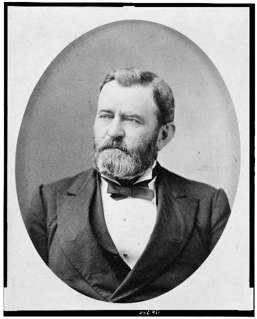 [Ulysses S. Grant, head-and-shoulders portrait, facing left]