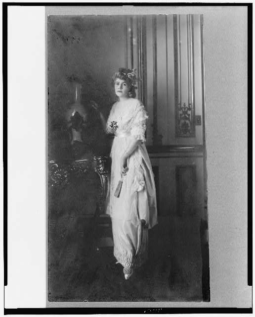 [Mrs. Stillman, full-length portrait, standing, facing slightly left]