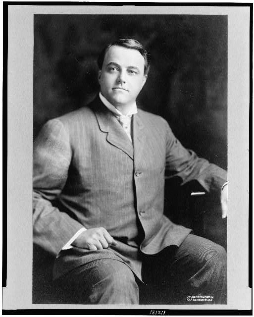 [Frank Bartlette Willis, three-quarter length portrait, seated, facing front]