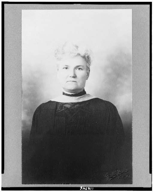 [Ellen F. Pendleton, half-length portrait, facing front]