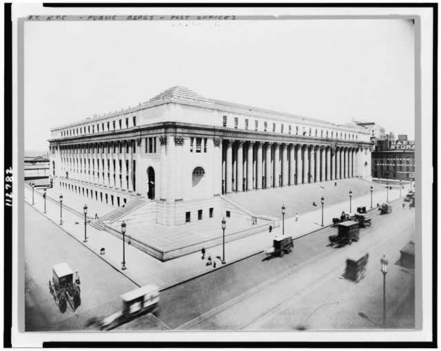 [New post office, 8th Ave. and 31st Street, New York City]