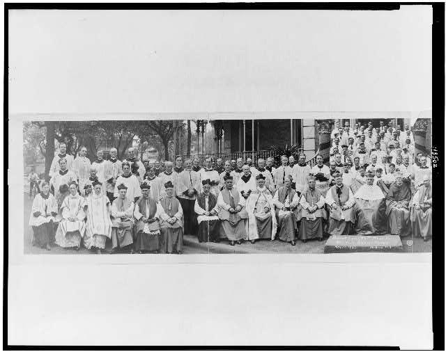 Bishop Edward P. Allen, Silver Anniversary, May 10, 1922, Mobile, Ala.