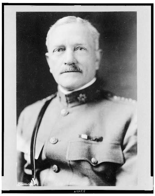 [General John Joseph Pershing, head-and-shoulders portrait, facing front, in uniform]
