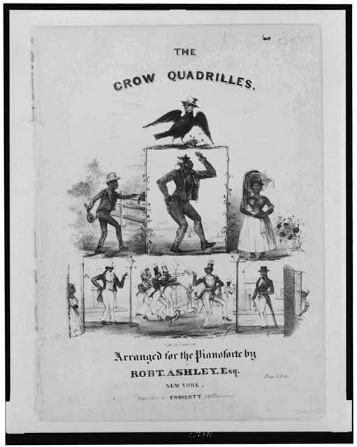 The crow quadrilles--Arranged for the pianoforte by Robt. Ashley, Esq.