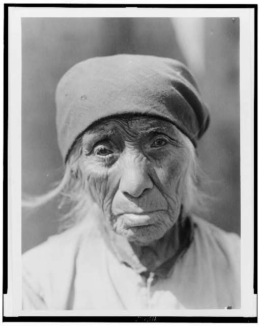 A Serrano woman of Tejon