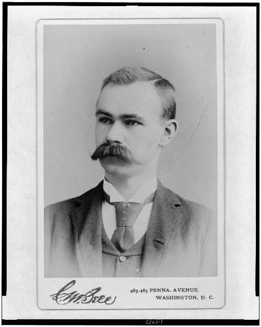 [Herman Hollerith, head-and-shoulders portrait, facing left]