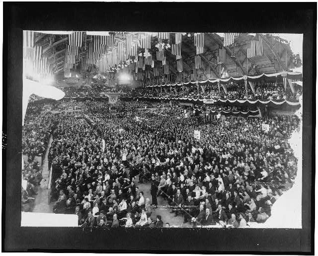 National Progressive Convention, Chicago, August 6, 1912
