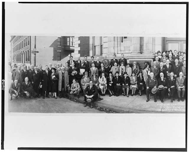 American Ornithologists' Union, 47th stated meeting, Oct. 22-25, 1929, the Academy of Natural Sciences, Phila., Pa.