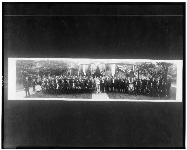 [President Taft at G.A.R. convention, Rochester, New York]