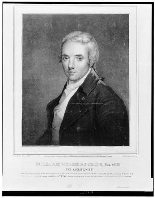 William Wilberforce, Esq. M.P.--The abolitionist