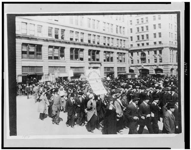 Parades - 1914, May Day parade, New York