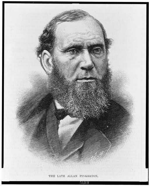 The late Allan Pinkerton