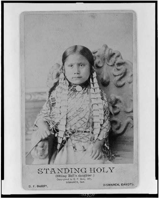 Standing Holy (Sitting Bull's daughter)