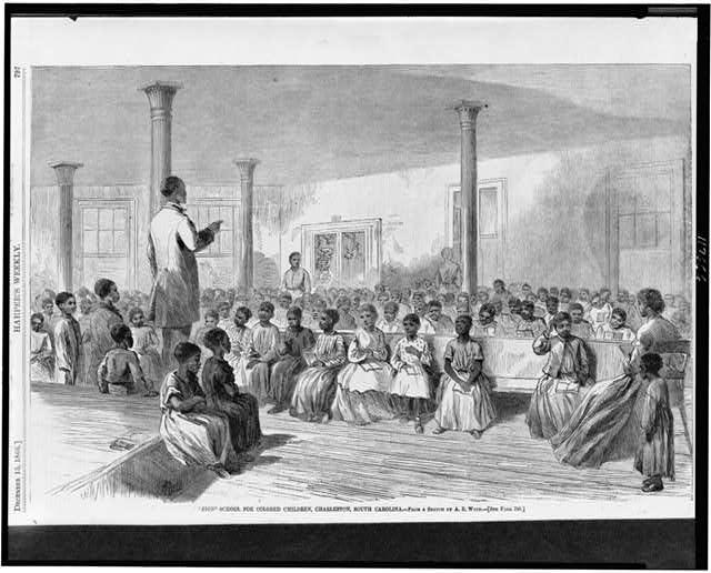 """""""Zion"""" school for colored children, Charleston, South Carolina"""