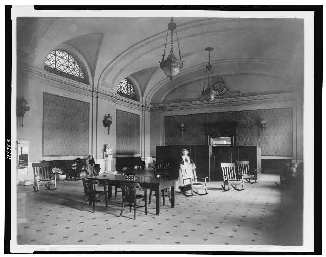 Ladies&#39; waiting room in the Union Station, Washington, D.C.