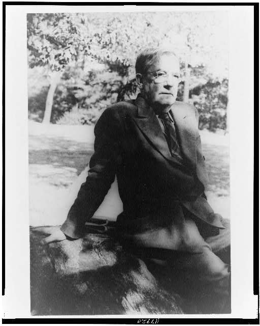 [Portrait of Sherwood Anderson, Central Park]