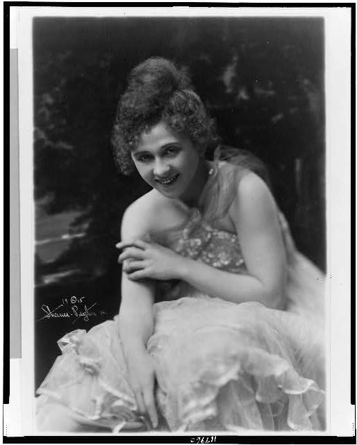 [Nan Halperin, three-quarter length portrait, facing front]