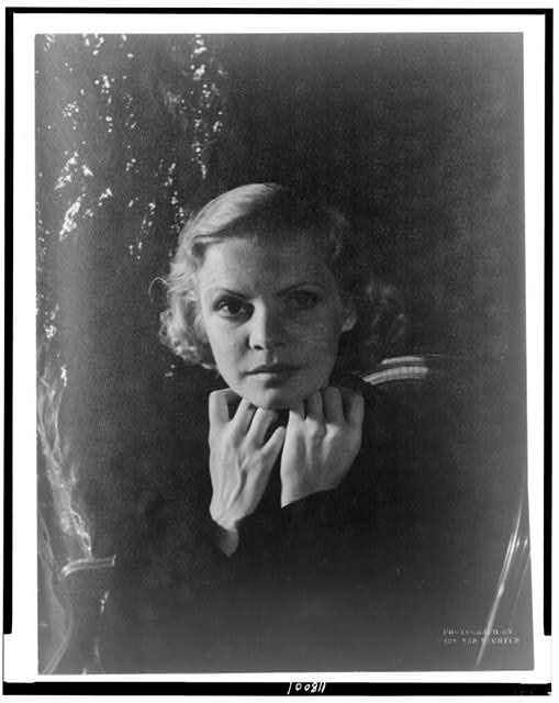 [Portrait of actress Claire Luce]