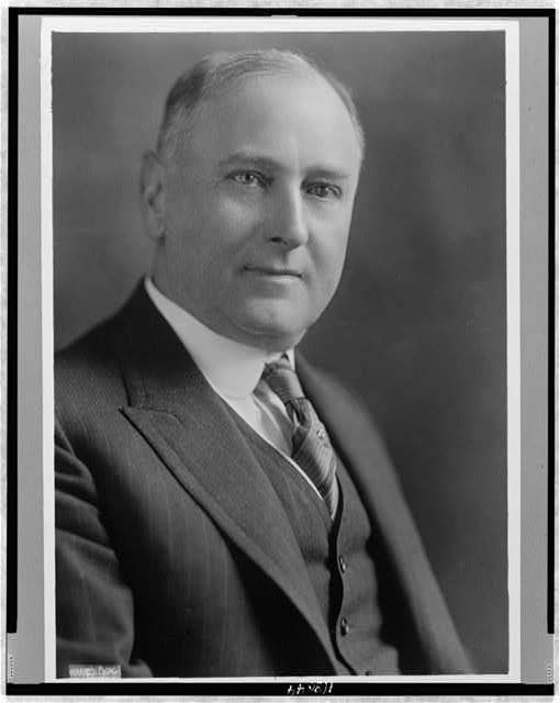 [Harry M. Daugherty, head-and-shoulders portrait, facing front]